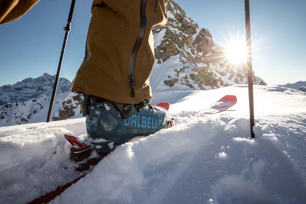Skitourenbindung vs. normale Bindung