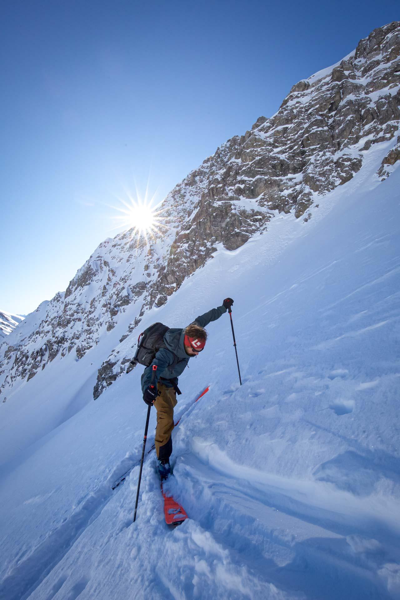 Skitouren Spitzkehren-Skitour-so klappt's mit der Spitzkehre